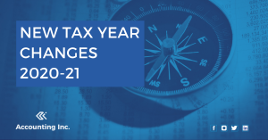 New tax year changes 2020-21
